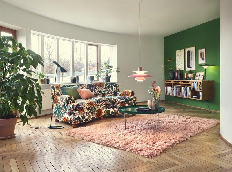 new product 9158f 22471 Louis Poulsen AJ floor lamp, dark green | Finnish Design Shop