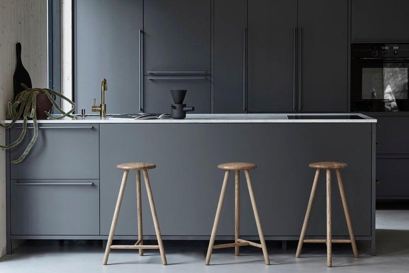 Nikari sgabello perch cm rovere finnish design shop