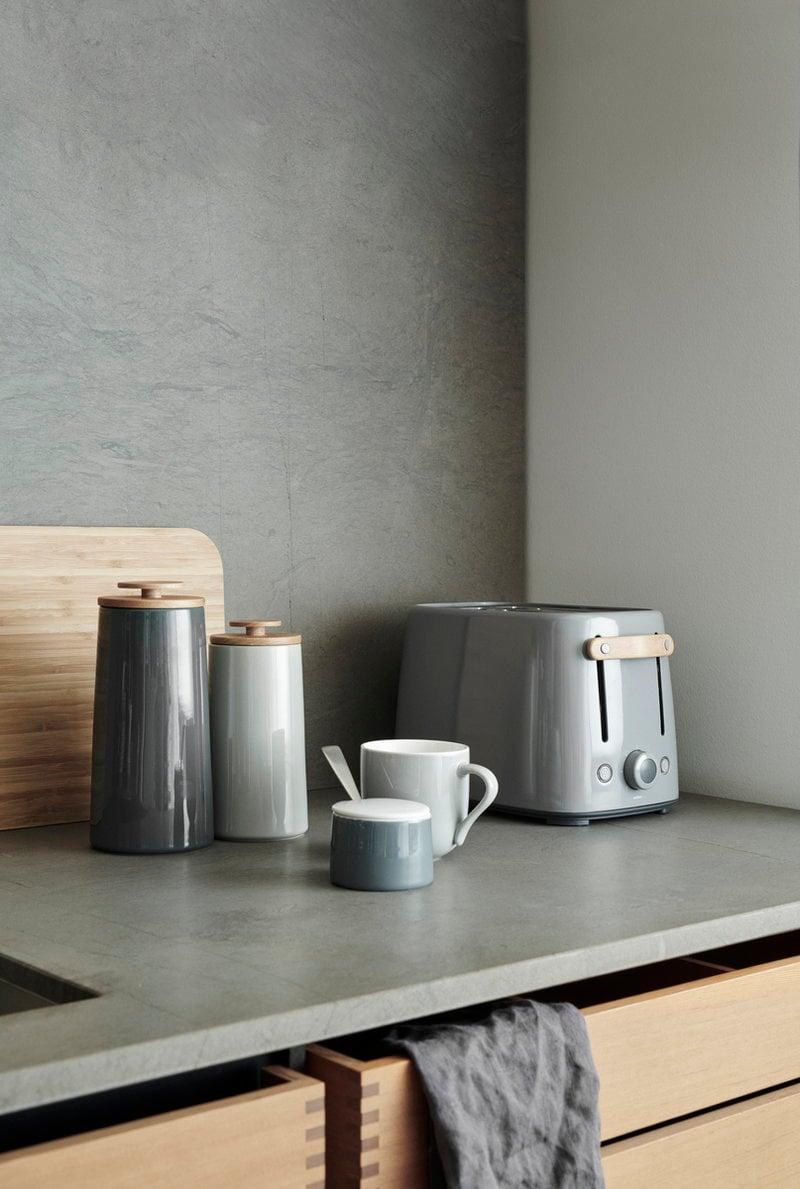 Stelton Emma Storage Jar Small Grey Finnish Design Shop
