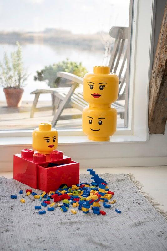 LEGO Storage Head Small Girl Room Copenhagen Toy