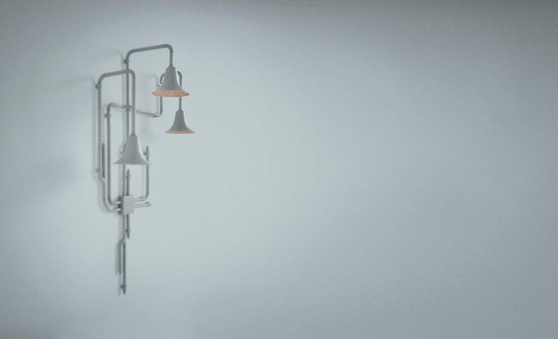Tradition lampada da parete light forest od finnish design shop
