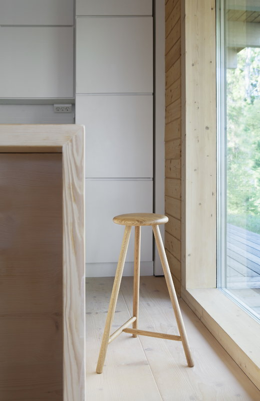 Nikari Perch Bar Stool 63 Cm Oak Finnish Design Shop