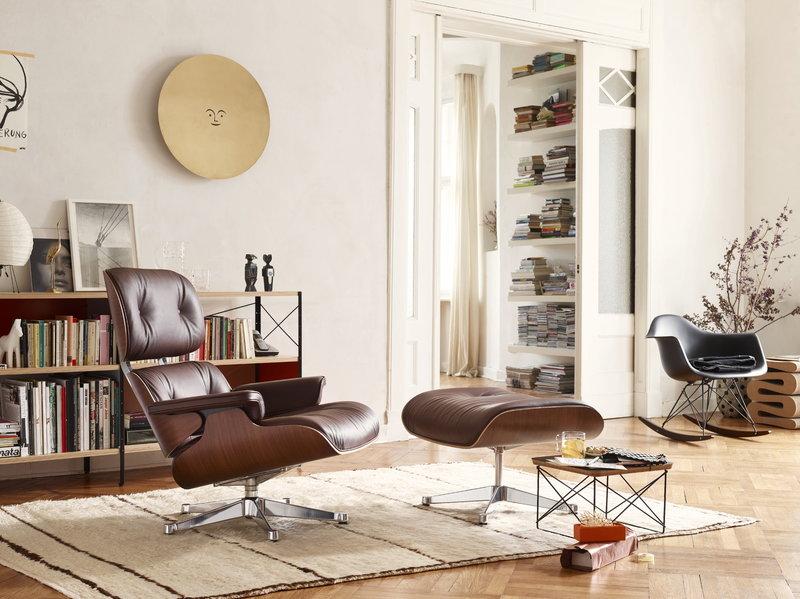 Eames Rocking Chair : Vitra eames rar rocking chair black finnish design shop