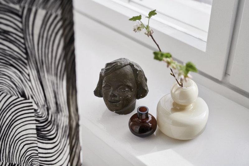 Marimekko Mini Vase Brown Finnish Design Shop