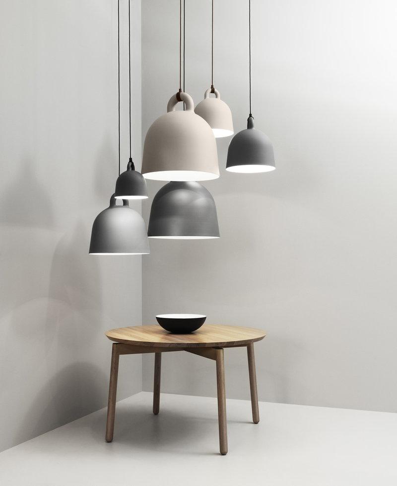 Normann Copenhagen Bell Pendant S Sand Finnish Design