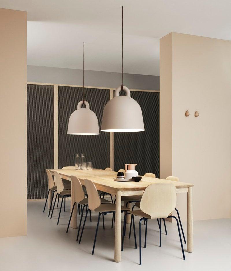 Normann Copenhagen Bell l& L sand & Normann Copenhagen Bell lamp L sand   Finnish Design Shop