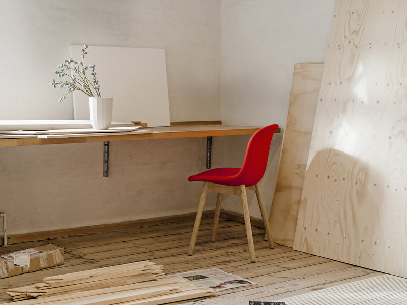 Image result for paper vase on chair