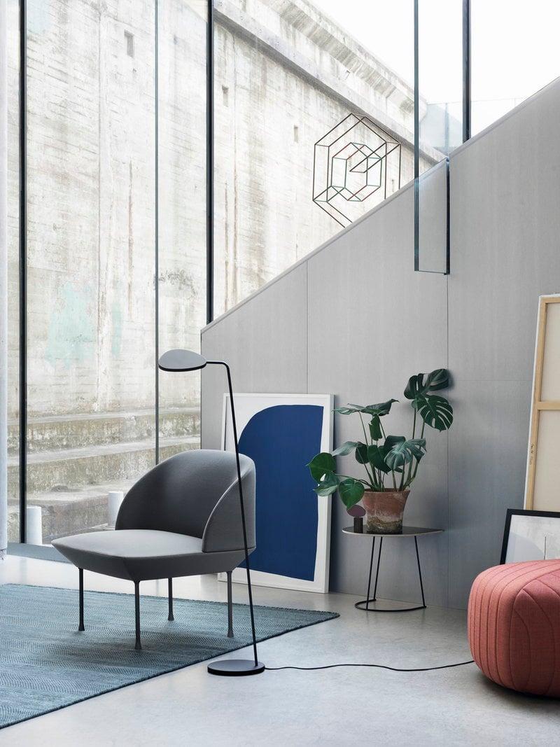 Muuto Five pouf, tangerine - Remix 632 | Finnish Design Shop