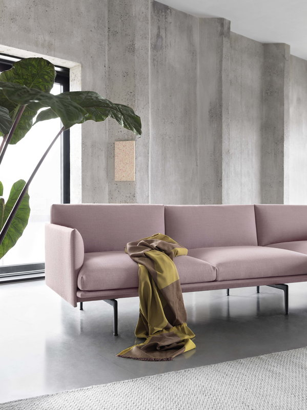 Muuto Outline Sofa, 3-seater