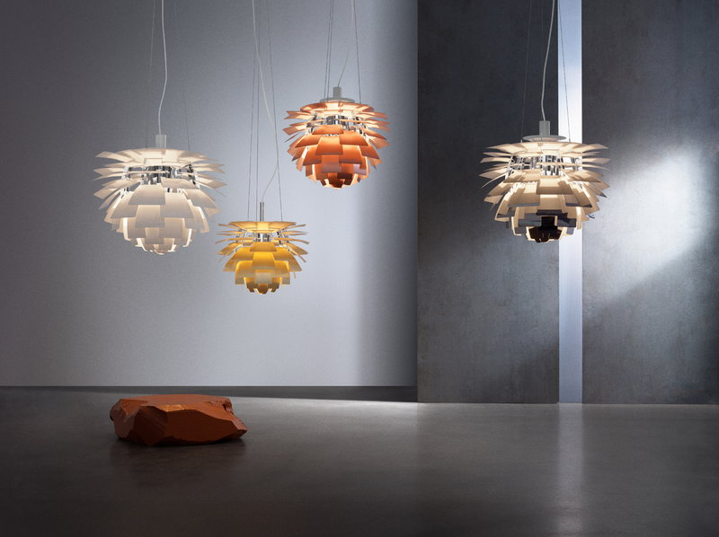 Lampada In Rame Design : Louis poulsen lampada ph artichoke mm rame finnish design shop