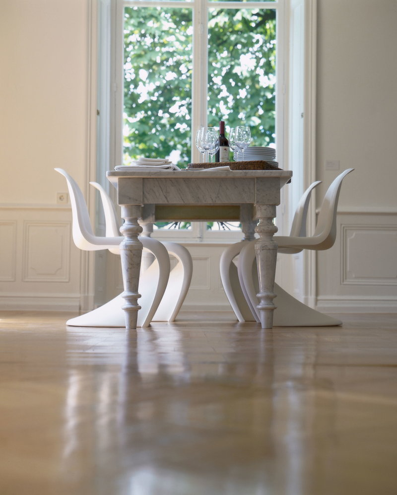 Vitra Sedia Panton, bianca | Finnish Design Shop