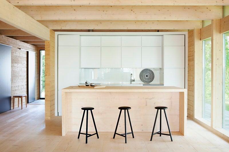 Nikari sgabello perch 75 cm nero finnish design shop