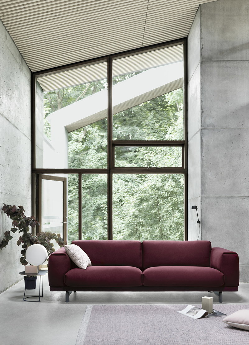 Muuto Rest sofa, 3-seater | Finnish Design Shop