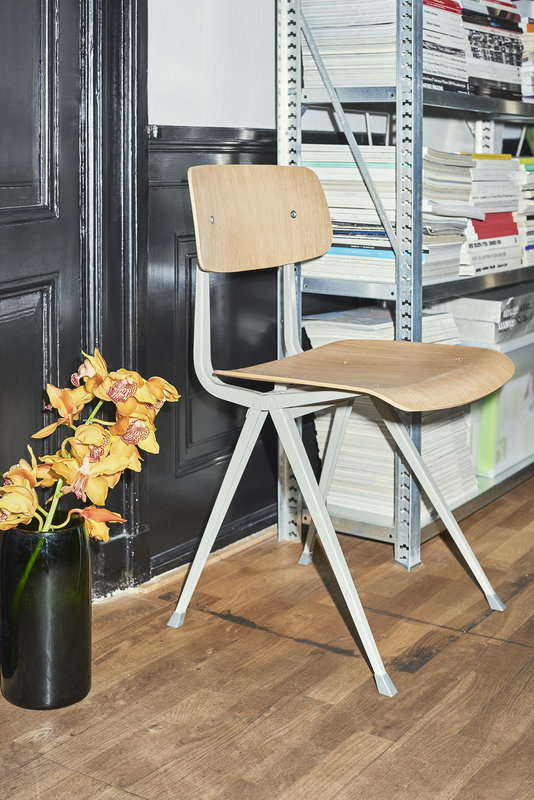 Hay result chair beige lacquered oak finnish design shop for Hay design outlet