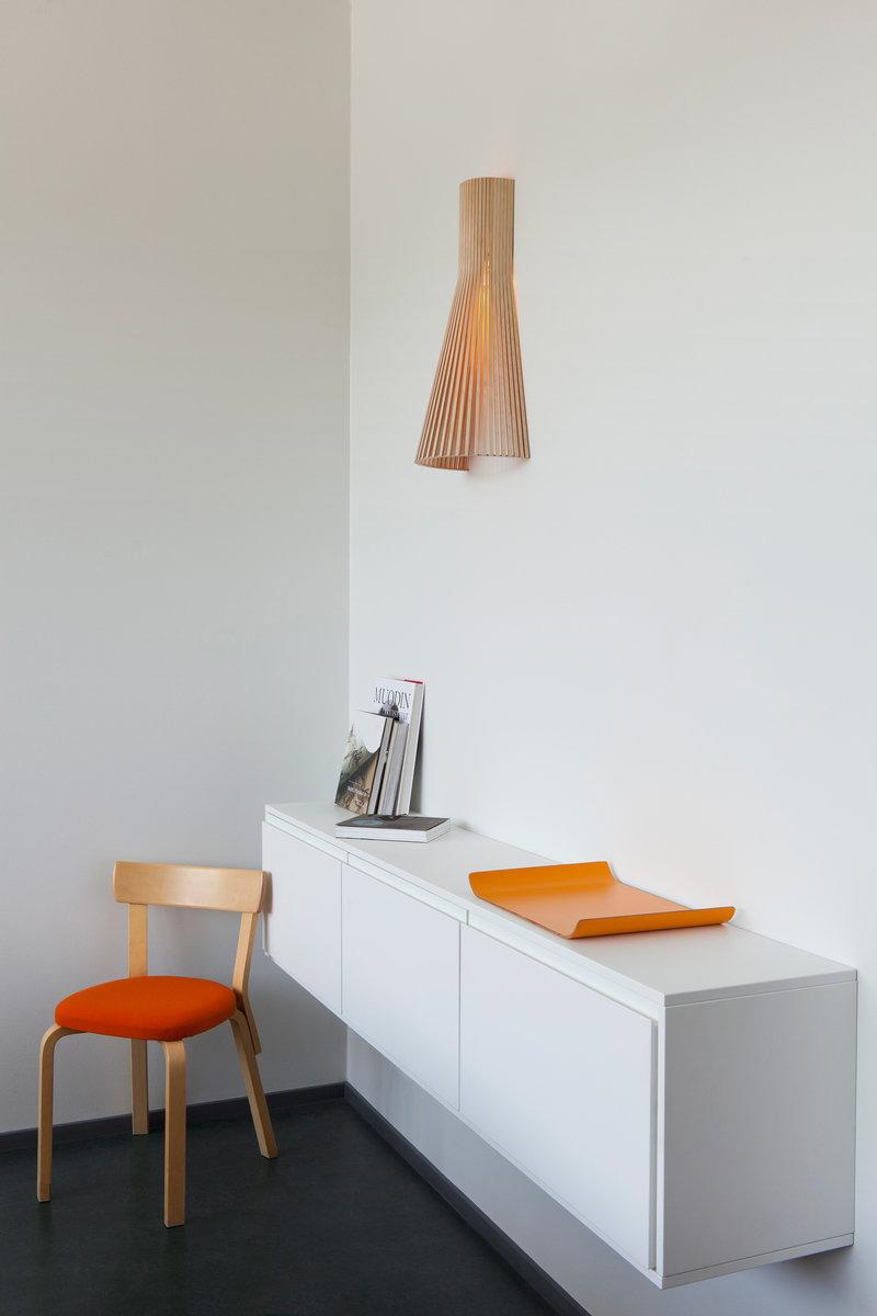 Secto design lampada da parete secto 4230 60 cm betulla - Lampada da parete design ...