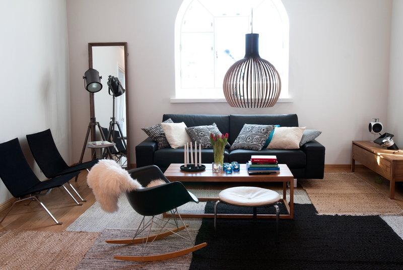 Vitra Eames Rar Rocking Chair Black Finnish Design Shop