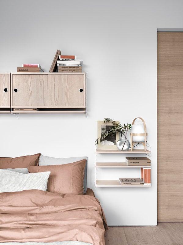 String Furniture Mensole String 78 x 20 cm, set di 3