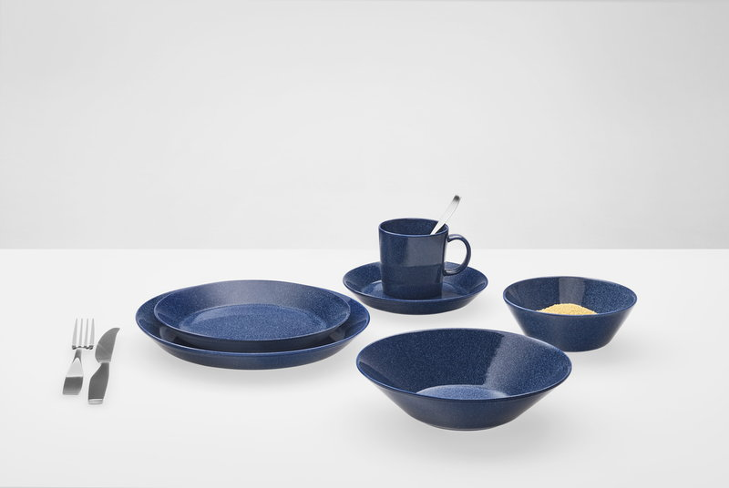 iittala teema bowl 21 cm dotted blue finnish design shop. Black Bedroom Furniture Sets. Home Design Ideas