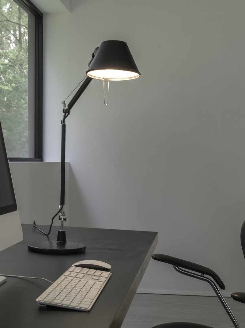 artemide tolomeo micro table lamp black finnish design shop. Black Bedroom Furniture Sets. Home Design Ideas
