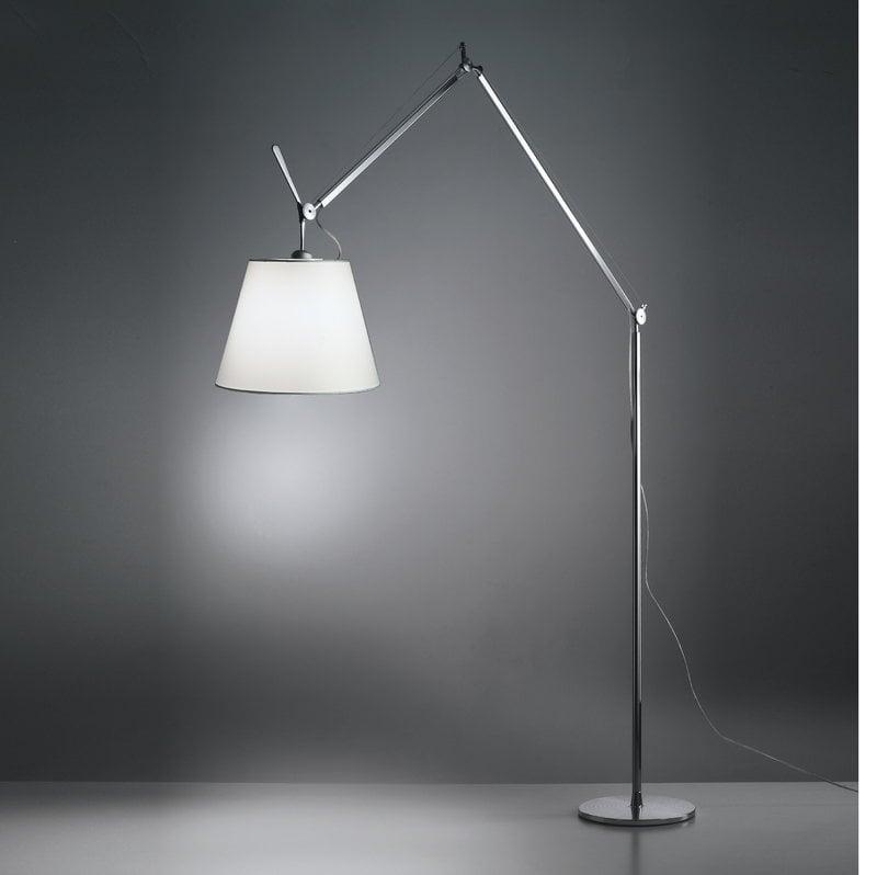 Tolomeo Mega Floor Lamp 36 Cm Aluminium Parchment
