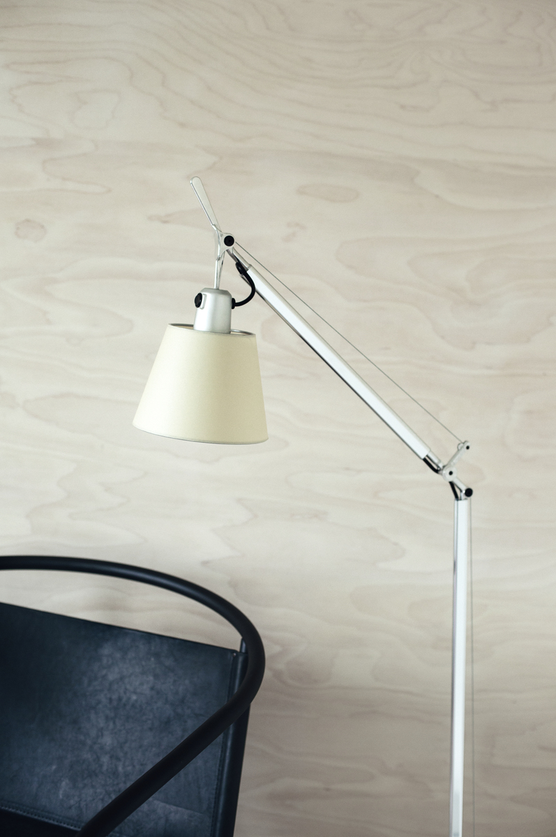 Artemide lampada da terra tolomeo basculante lettura for Lampada da lettura ikea