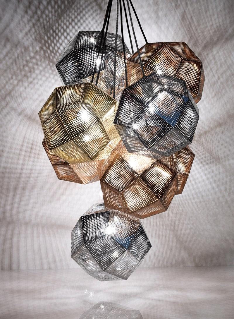 tom dixon etch pendant copper finnish design shop. Black Bedroom Furniture Sets. Home Design Ideas