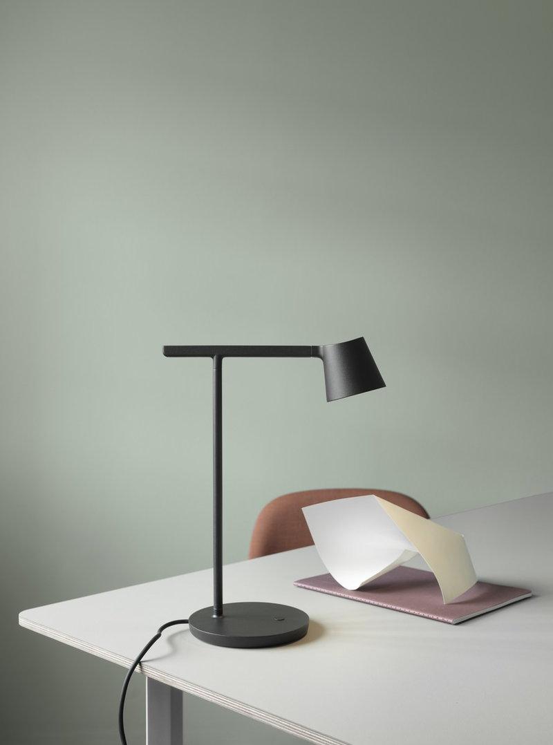 Design Lampade Da Tavolo lampada da tavolo tip, nera