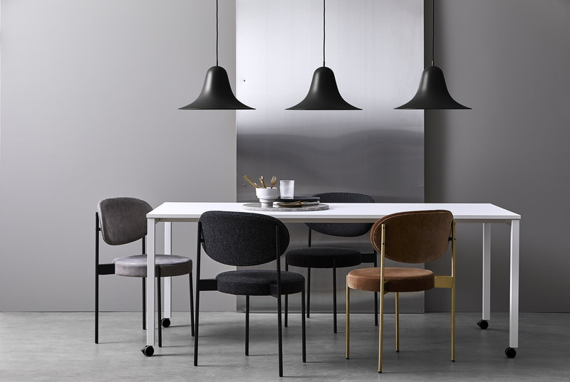 Verpan Series 430 chair, dark grey | Finnish Design Shop