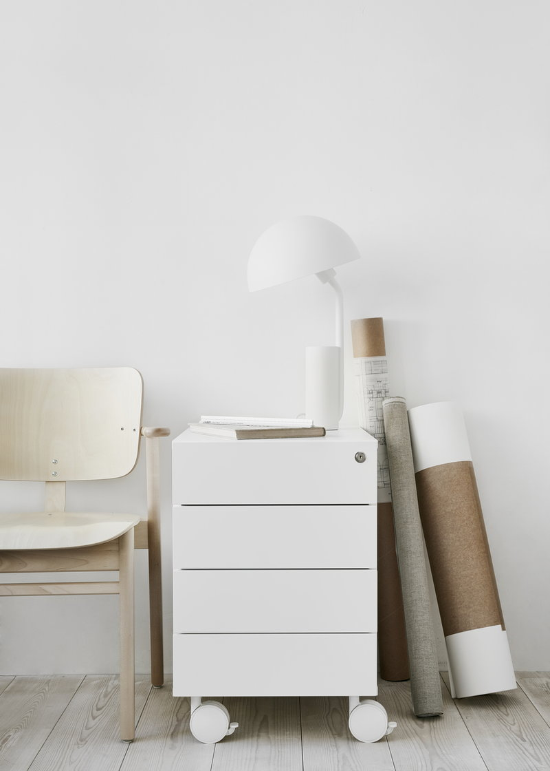 Adi 33/33 drawer unit, white  Finnish Design Shop