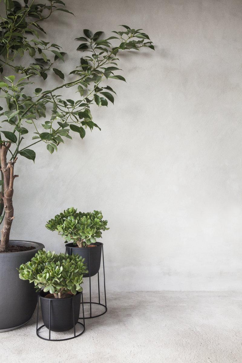 Menu Wire pot, black | Finnish Design Shop