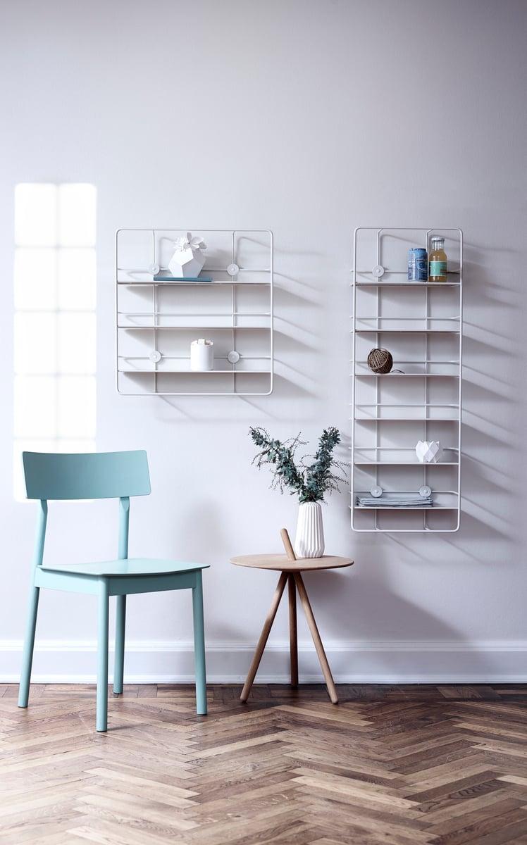 Woud: Woud Coupé Vertical Shelf, White