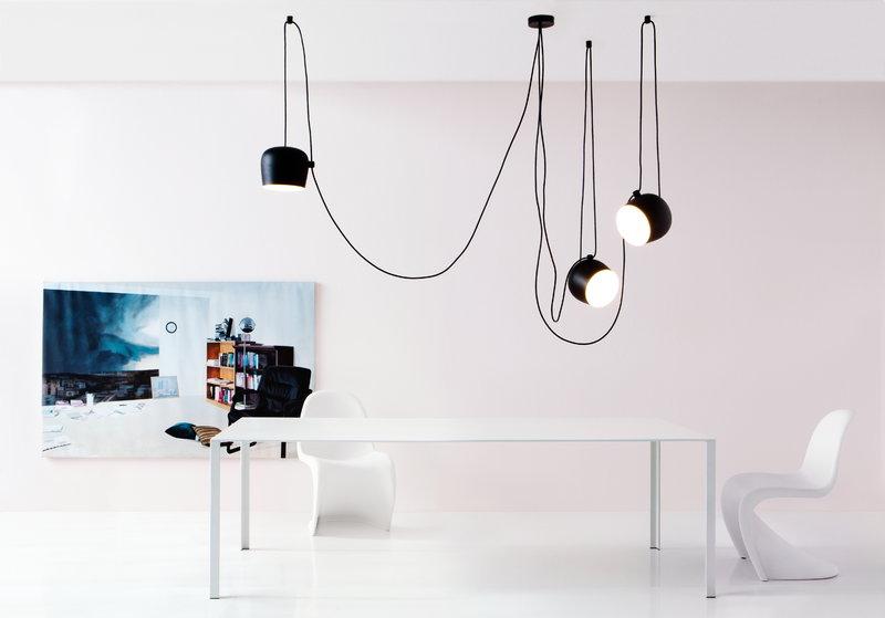 Flos lampada a sospensione aim cable plug finnish design shop