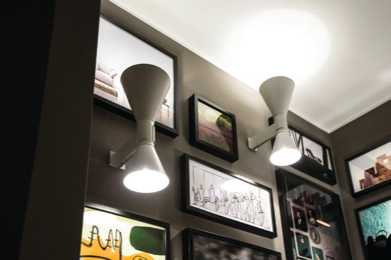 Nemo lighting applique de marseille wall lamp grey finnish design