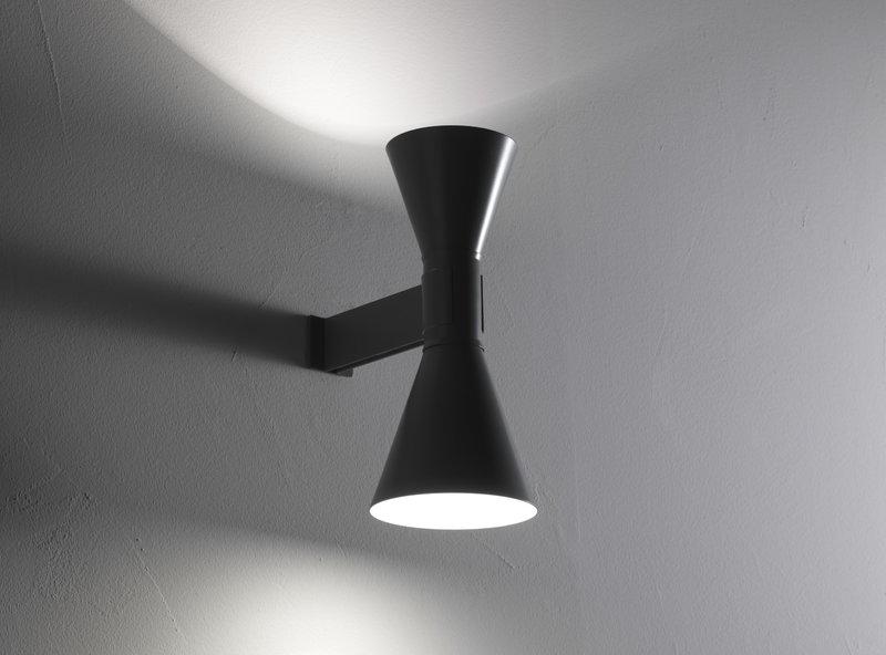 Nemo lighting applique de marseille wall lamp grey finnish