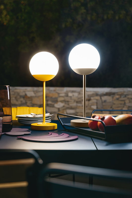Fermob mooon table lamp aubergine finnish design shop mooon table lamp aubergine mozeypictures