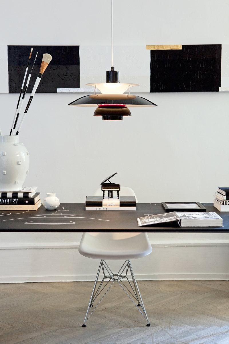 louis poulsen ph 50 pendant olive black finnish design shop. Black Bedroom Furniture Sets. Home Design Ideas