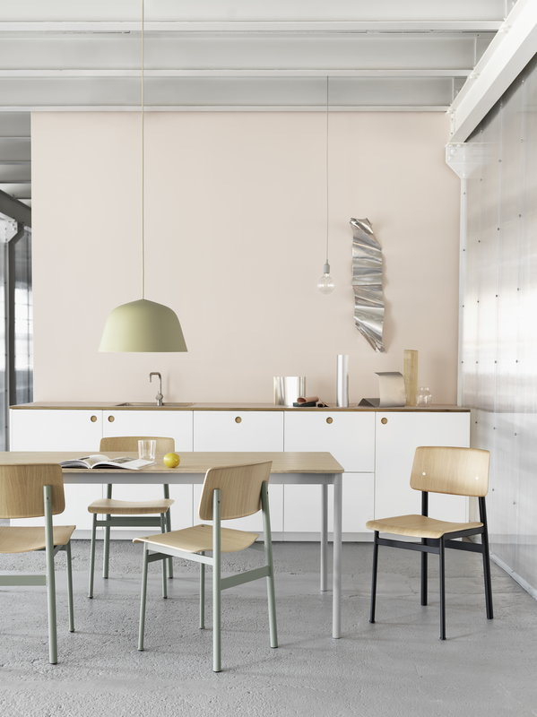 Muuto Ambit Pendant Beige Green Finnish Design Shop