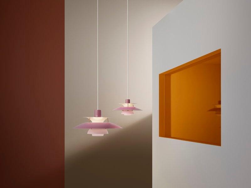 Louis Poulsen PH 5 Mini pendant, rose | Finnish Design Shop