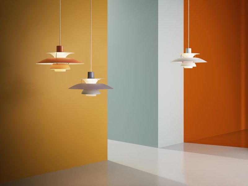 Louis Poulsen PH 5 pendant, grey | Finnish Design Shop