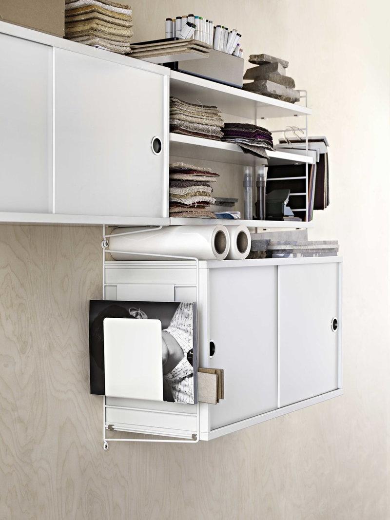 String Furniture String Cabinet 78 X 30 Cm White Finnish Design Shop