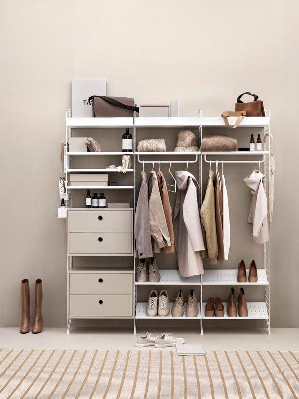 String Furniture String Organizers 3 Pack White Finnish Design Shop