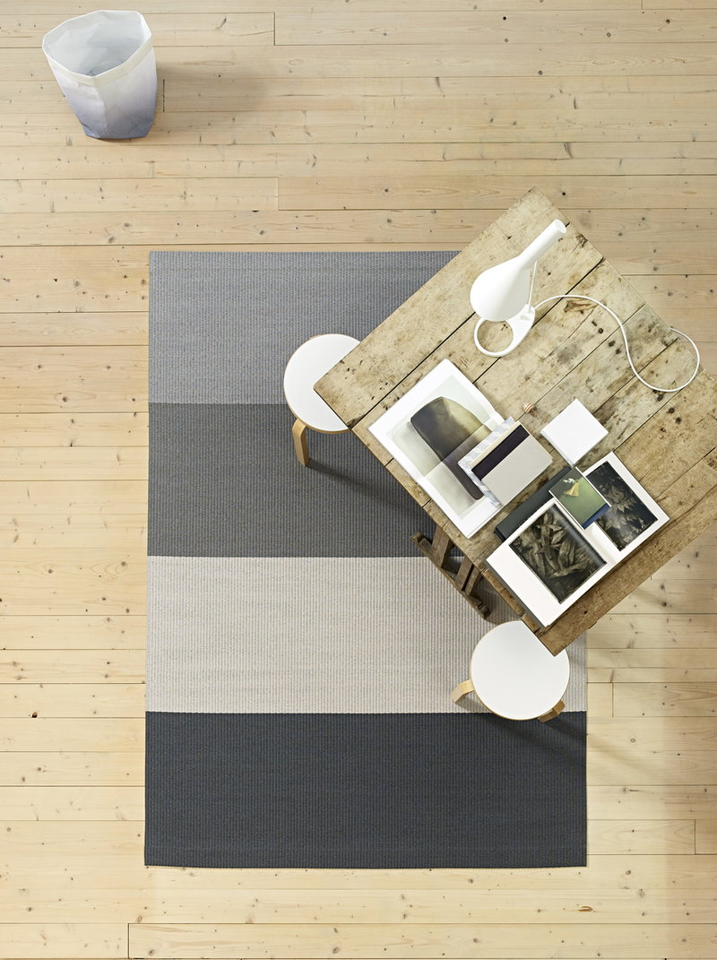 Woodnotes Fourways Carpet With Backing Light Grey White Finnish Design Shop
