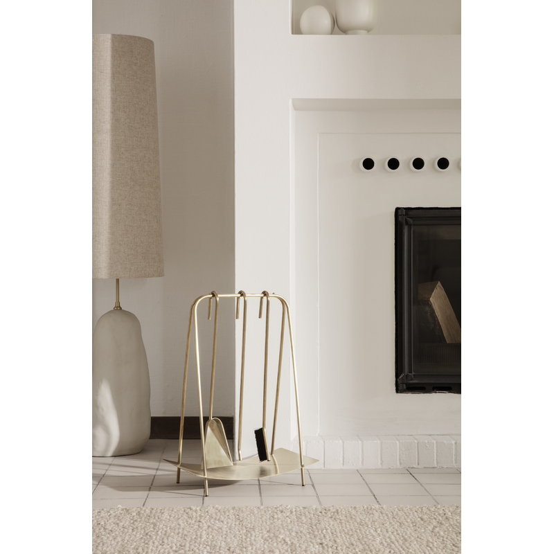 Ferm Living Port Fireplace Tools Br Finnish Design