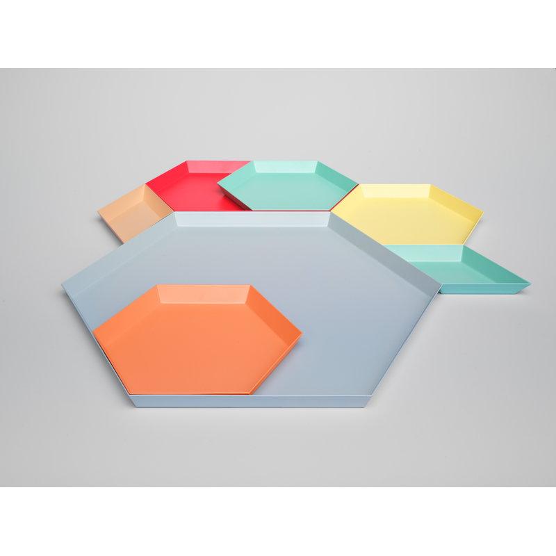hay kaleido tray xl light grey finnish design shop. Black Bedroom Furniture Sets. Home Design Ideas
