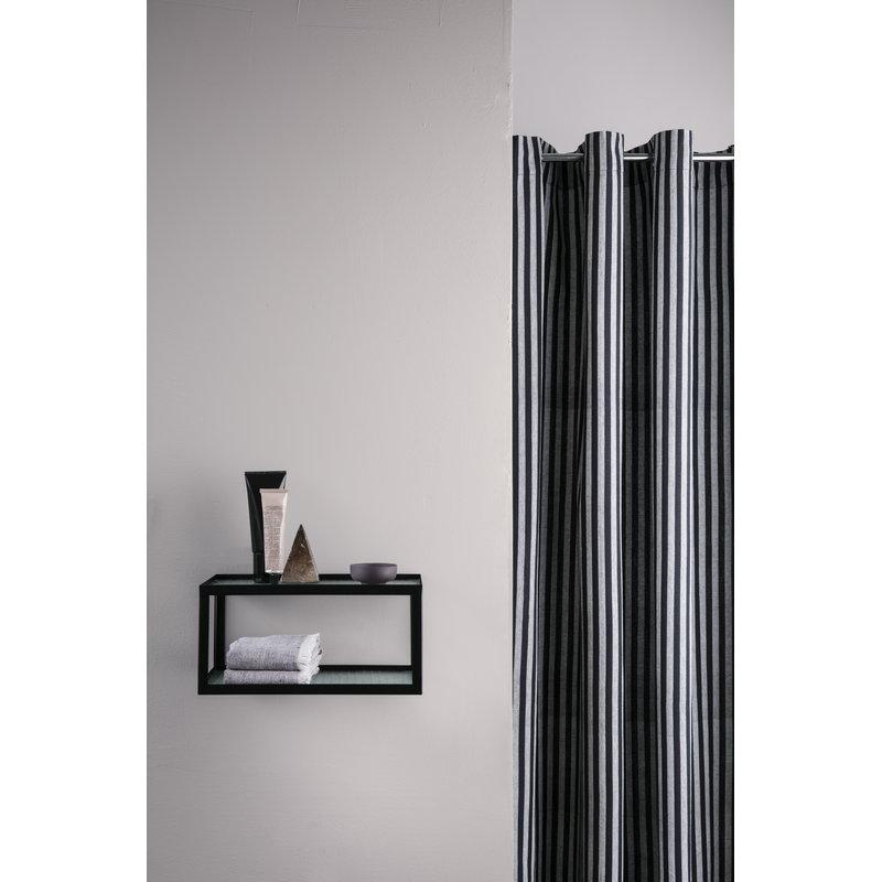 Ferm living tenda per doccia chambray a righe finnish - Tenda doccia design ...