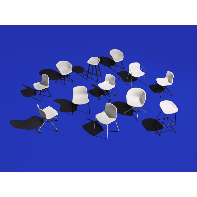 Hay About A Stool Aas38 Black Finnish Design Shop