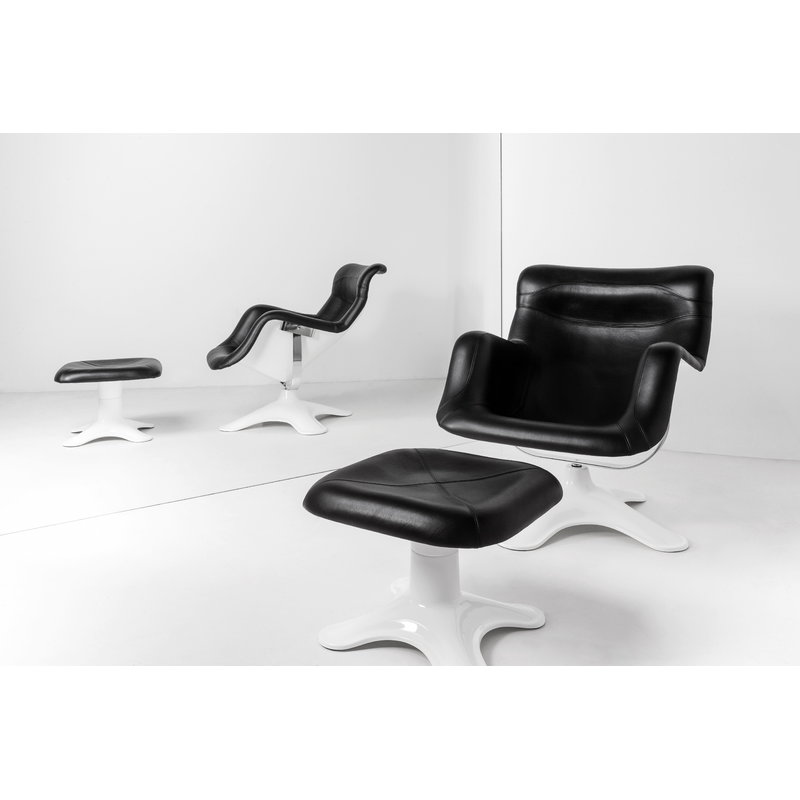 Artek Karuselli Chair Black White Finnish Design Shop