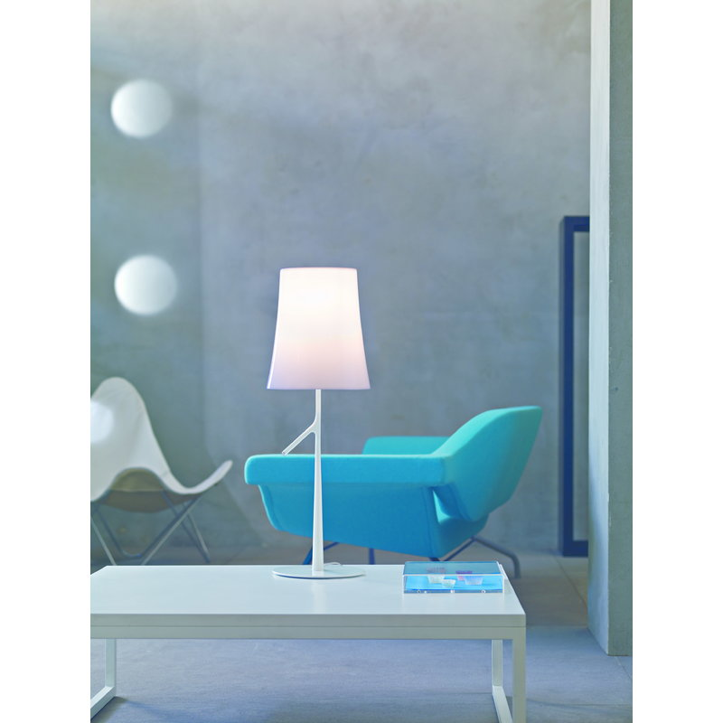 Foscarini Birdie Table Lamp Small White