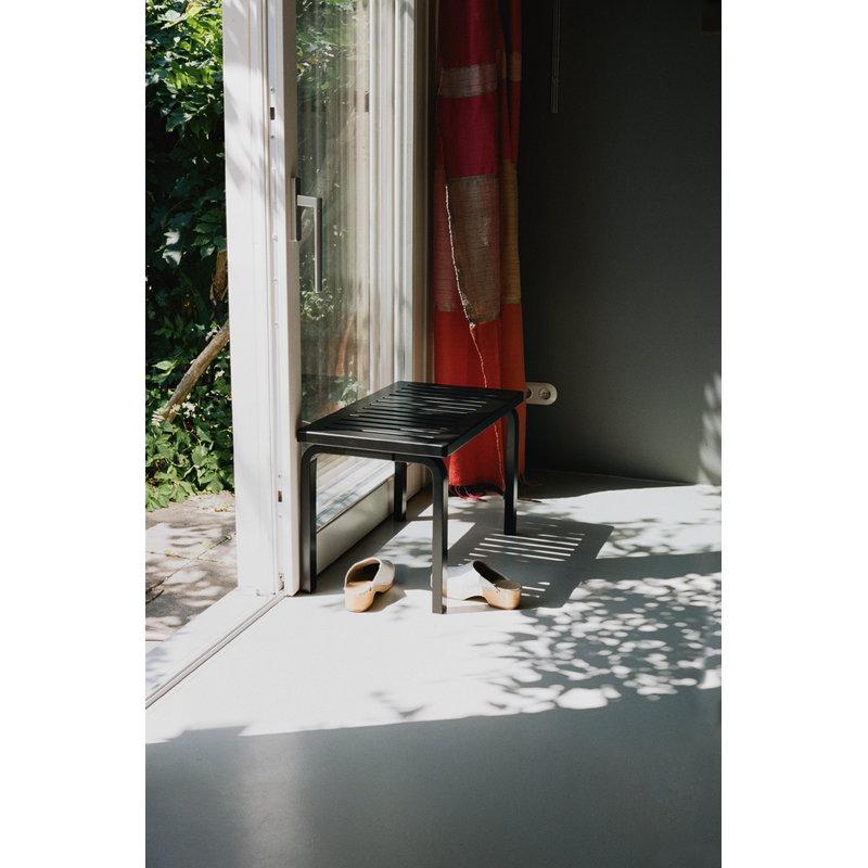 Miraculous Aalto Bench 153B Black Creativecarmelina Interior Chair Design Creativecarmelinacom