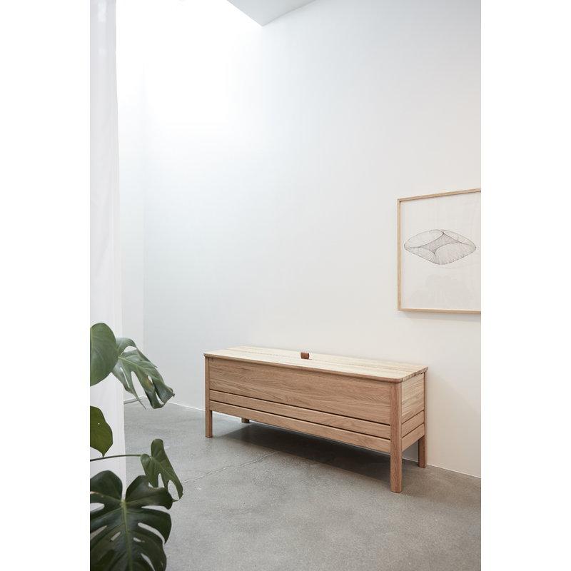 Magnificent A Line Storage Bench Oak Short Links Chair Design For Home Short Linksinfo